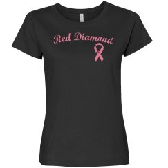 Red Breast Cancer Awareness Tee