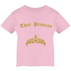 Their princess tee