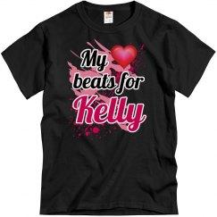 My heart beats for Kelly