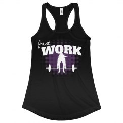 Just Work-black/purple