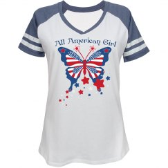 All American Girl Butterfly Tee3