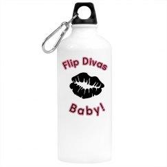 Flip Divas Water Bottle