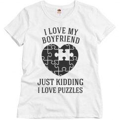 I love Puzzles