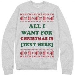 Custom Christmas Wish