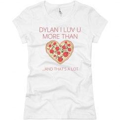 Dylan vs Pizza
