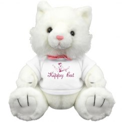 Kippy Cat Stuffed Animal Cat