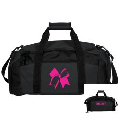 Pink Bow Bag (Name)