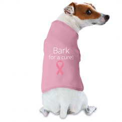 BARK FOR A CURE DOG TANK