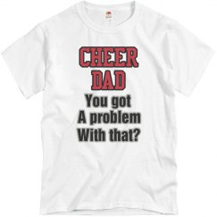 Cheer Dad Bold Tee