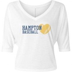 Hampton Baseball Heart