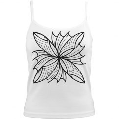 Poly Flower camisole