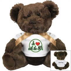 Love The 80's Small Teddy