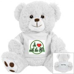 Love The 80's Small Teddy