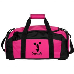 Cheerleader Duffel Bags