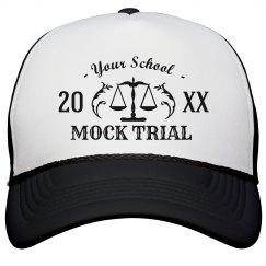 Custom Hat Mock Trial