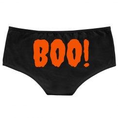 Boo! Halloween Underwear