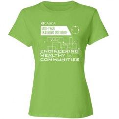 2017 MYTI Ladies T-shirt - Lime