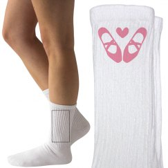 Dance Socks Ladies