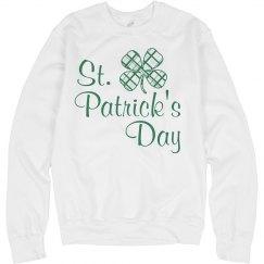 St. Patricks Day Noodie Shamrock