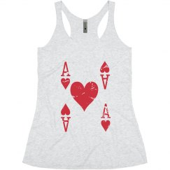 Queen of Hearts Tank Top