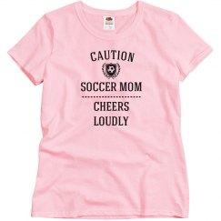 Caution soccer mom