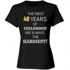 40 years of Childhood