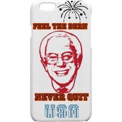 FEEL THE BERN' RED I-PHONE CASE