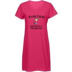 Keep Calm - Margarita blue
