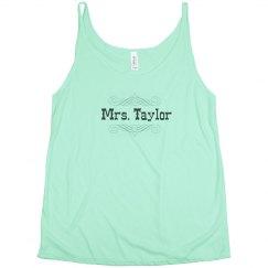 Mrs. Taylor Scroll