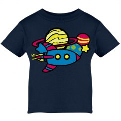 Space Astronaut Baby Tee