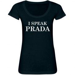 I Speak Prada