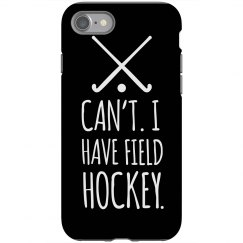 Field Hockey Phone Case