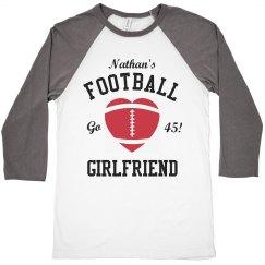 Football Girlfriend Crop