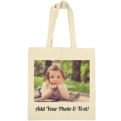 Mothers Day Custom Photo Tote