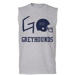 football musle shirt