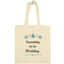 Sweating for Wedding Tote