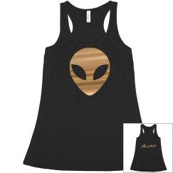 black alian shirt