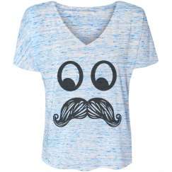 Crazy Eyes Mustache