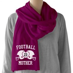 Football Mother Scarf