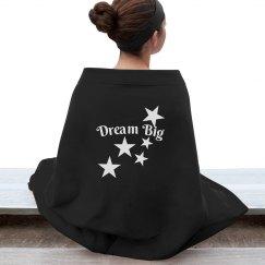 Dream Big Blanket-White