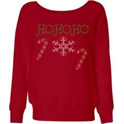 Ho Ho Ho Rhinestones