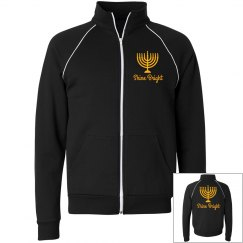 Hanukkah Fashion Zip Up