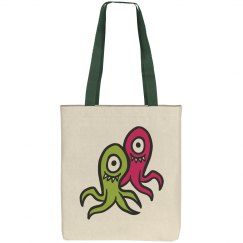 Sea Monsters Kids Tote Bag