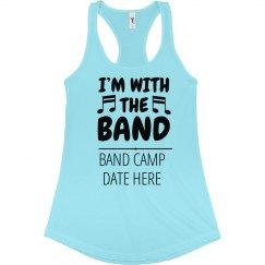 Custom Band Camp Music Notes