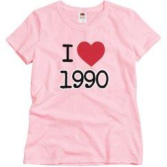 I love 1990