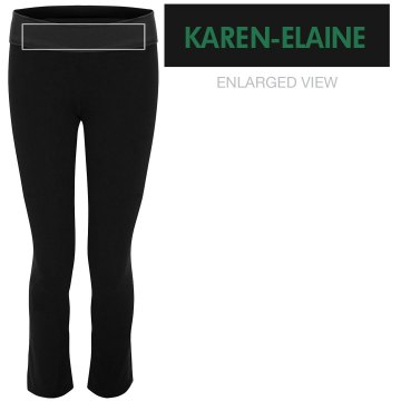 Name Yoga Pants: KEACC