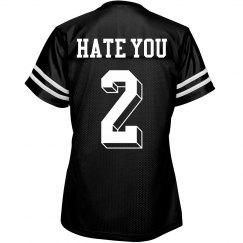 Yeah, Hate You Too