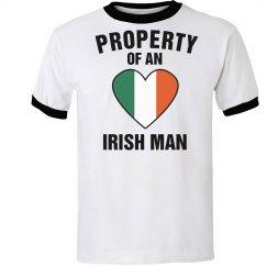 Property of an Irish Man Shirt