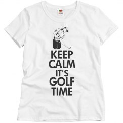 Keep calm it's golf time