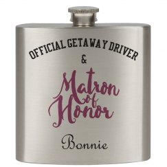 Matron/Bridesmaid Flask